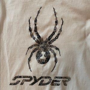 Spyder White Tee